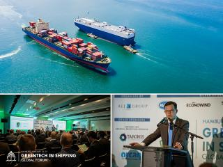 Green technology for reducing GHG emissions from ships