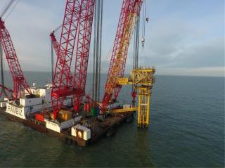 SCALDIS Completes Decommissioning Works For Offshore Horne & Wren Platform In 3 Days
