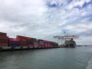 Port of Oakland import volume increased 9 percent last month