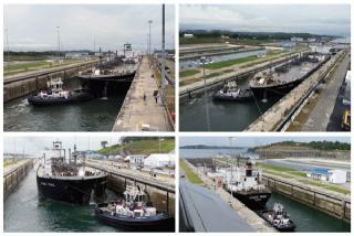LPG Carrier Lycaste Peace constructed by MHI - First to transit expanded Panama Canal on Day 1 of waterway's commercial operation