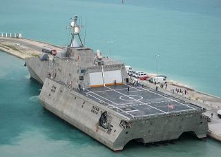 US Navy christens newest Independence-variant LCS as USS Manchester