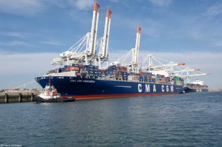 CMA CGM to upgrade EURAF 4 connecting the Mediterranean with West Africa