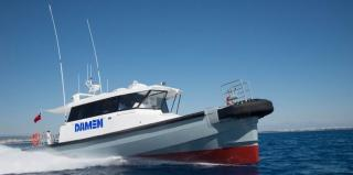 Damen composite FCS 1605 to start