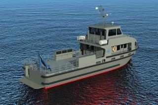 Incat Crowther Supplying Workboat Design for South African Special Forces