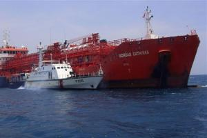 Collided Norgas Cathinka Freed from Indonesia