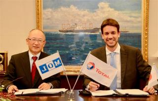 Total and Mitsui O.S.K. Lines sign a long-term charter contract for a pioneer Liquefied Natural Gas (LNG) bunker vessel