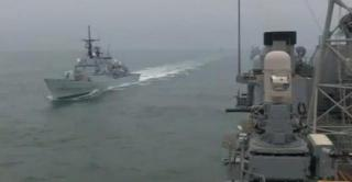 After one-day delay NATO naval drills able to begin in Black Sea, video