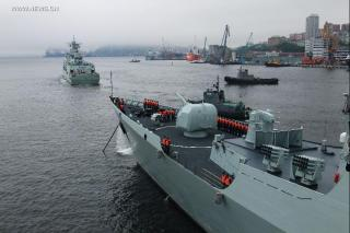 Russian and Chinese navies to stage naval drills in Sea of Japan
