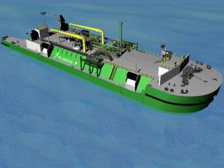 Moran Receives Patent For ATB LNG Boil-off Gas Technology