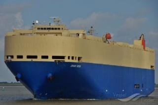 MOL-operated Car Carrier Grand Orion Makes 1st Call at Port of Sihanoukville, Cambodia