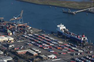 Cargo volumes through Belfast Harbour surpassed 24M Tonnes for the First Time