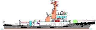 MOL Sets Sights on Construction of LNG-fueled Tugboat