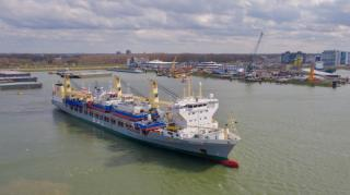 Damen Shipyards Group delivers 19-vessel order to German heavy lift company Combi Lift