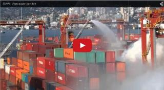 Teams manage to contain Port Metro Vancouver fire