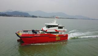 Successful Sea Trials for BMT-Designed 27m Crew Transfer Vessel