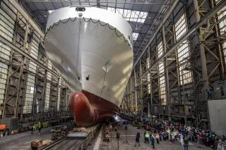 Flensburger-Schiffbau-Gesellschaft's seventh Ro-Ro ship for SIEM successfully launched