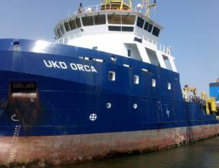 Port of Ipswich welcomes UKD Orca for annual dredging campaign