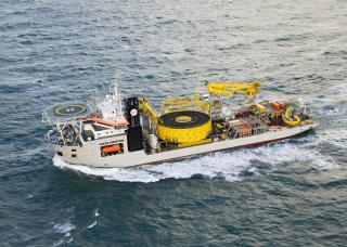 Jan De Nul successfully completes cable installation for the ADNOC Offshore NASR Full Field Development Project