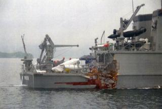 Japan's MSDF minesweeper and cargo ship collide in western Japan sea