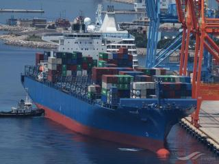Diana Containerships extends time charter contract for mv Pucon with OOCL