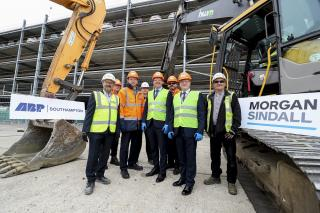 The latest stage of a £50Mln expansion of automotive trade at the Port of Southampton begins
