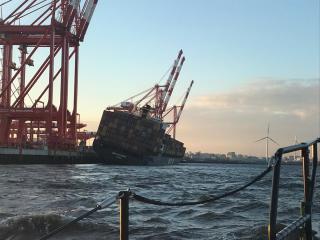 MSC Matilde incident at Port of Liverpool, UK