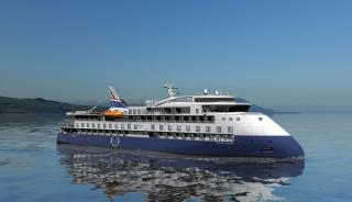 Third Expedition Cruise Vessel for Ulstein at CMHI