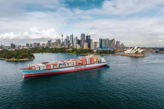 Leda Maersk calls Sydney for 25-year celebrations