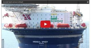 Video: Teekay's First UMS Successfully Arrives In Rio de Janeiro