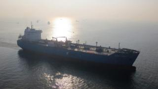 Saga LNG's mid-size carrier starts sea trials