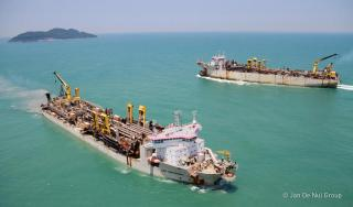 Jan De Nul signs 25 year concession agreement to dredge Guayaquil Port Access Channel
