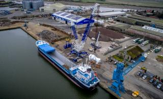 Port of King's Lynn completes second heavy lift operation for Centrica Plant