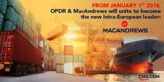 CMA CGM Group merges its subsidiaries MacAndrews and OPDR