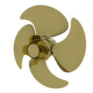 Energy-saving Wärtsilä EnergoProFin propeller cap increases efficiency of controllable and fixed pitch propellers