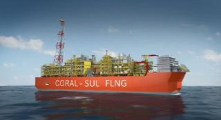 Eni starts the installation of the hull of Coral Sul FLNG
