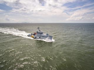 Homeland Integrated Offshore Services of Nigeria adds to its fleet of Damen 3307 Patrol Vessels