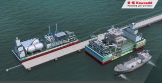 Kawasaki – LNG Floating Power Plant obtains AiP from DNV GL