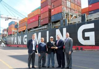 THE Alliance Makes Its First Call to the Port of Philadelphia
