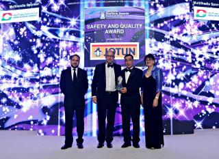 Drydocks World wins Safety & Quality Award