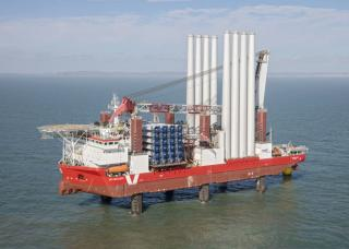 MPI Discovery starts installation of wind turbines at Rampion Offshore Wind Farm, England