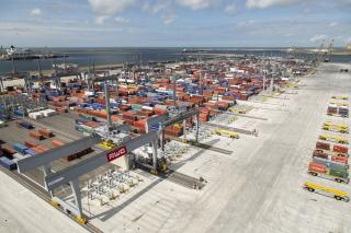 Rotterdam's container throughput grows by 8.8% in first quarter