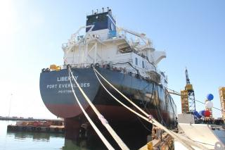 General Dynamics NASSCO Christens Third ECO Class Tanker for SEA-Vista LLC; Celebrates Milestone Year (Video)