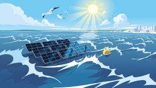Consortium of Tractebel, Jan De Nul Group, DEME, Soltech and Ghent University cooperate in innovative project in the field of marine floating solar technology