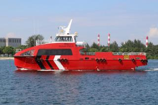 Lita Ocean Delivers Incat Crowther-Designed 25m Crewboat