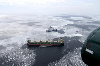 Arctia's MSV Nordica assisted the Finnish Border Guard in a maritime rescue mission west of Hogland