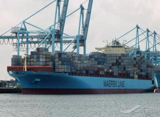 Asia-N.Europe Container Rates Fall 17%