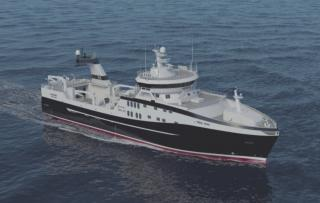 A new contract for an advanced stern trawler came into force for GONDAN