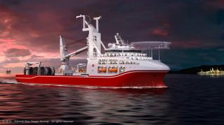 Wärtsilä to supply ship design for new type deep water dive support vessel