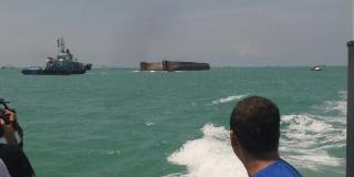 Barge owner instructed by MMEA to start salvage operation