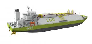 International Contract Engineering (ICE) develops new small-scale LNG carrier concept